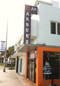 Barber's Bar in North Beach Village on Fort Lauderdale Beach