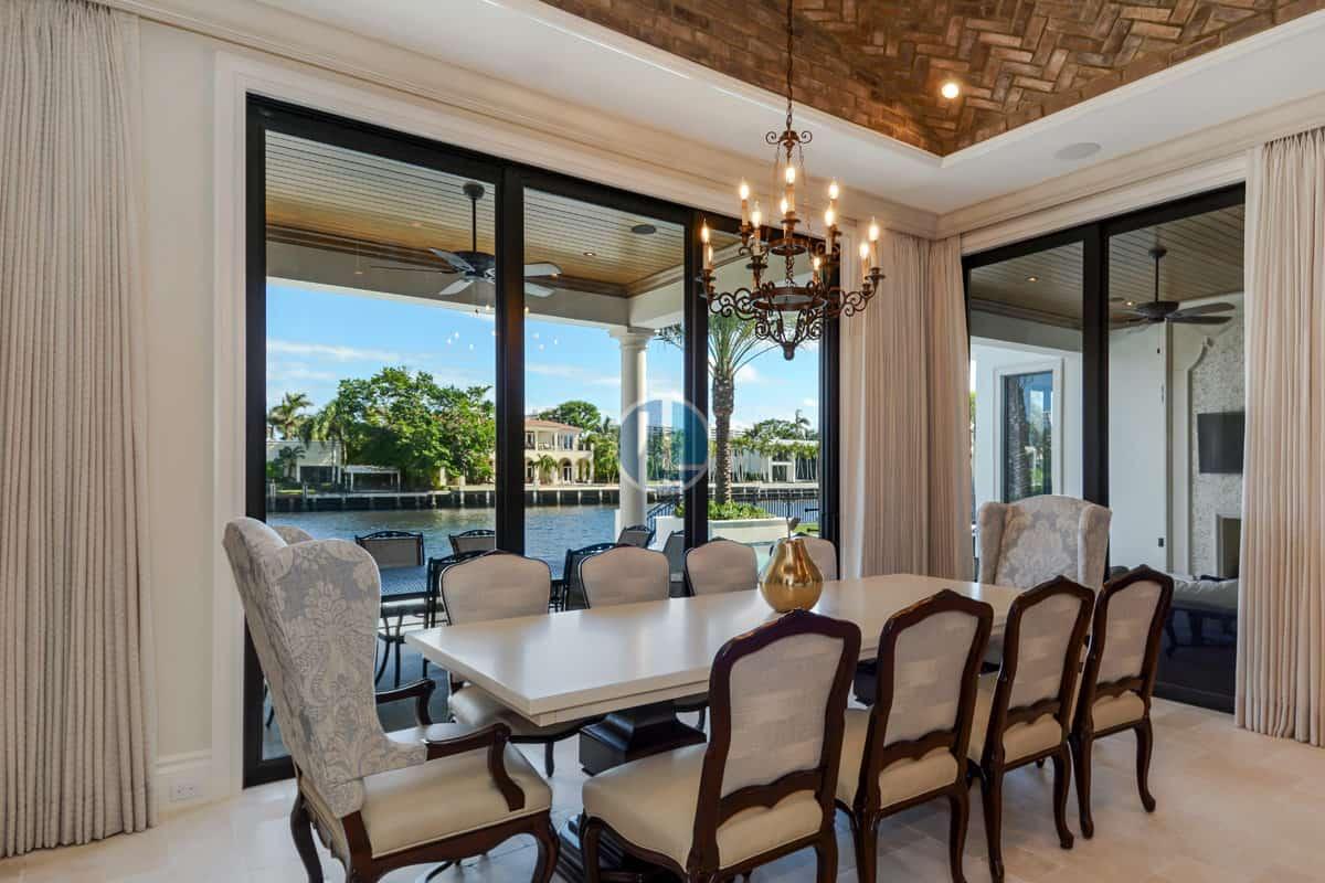 1400 Royal Palm Way Boca Raton FL 33432 Dining Room